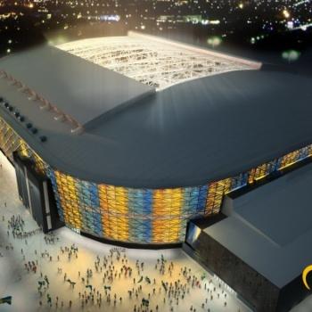 Suedia: solutii Lindab pentru Friends Arena