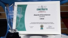 Lindab – premiu Euro Constructii