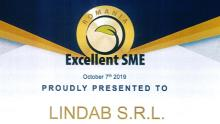 Certificare Excellent SME pentru Lindab